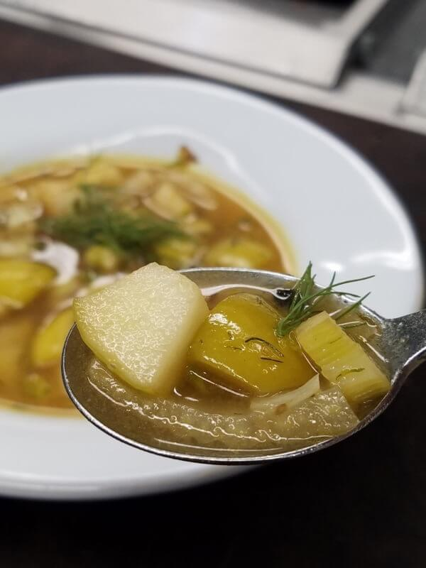 Apple Fennel Soup